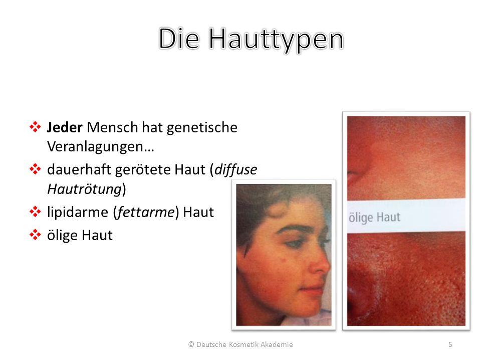 Diagnostische Indikatoren liparmer Haut