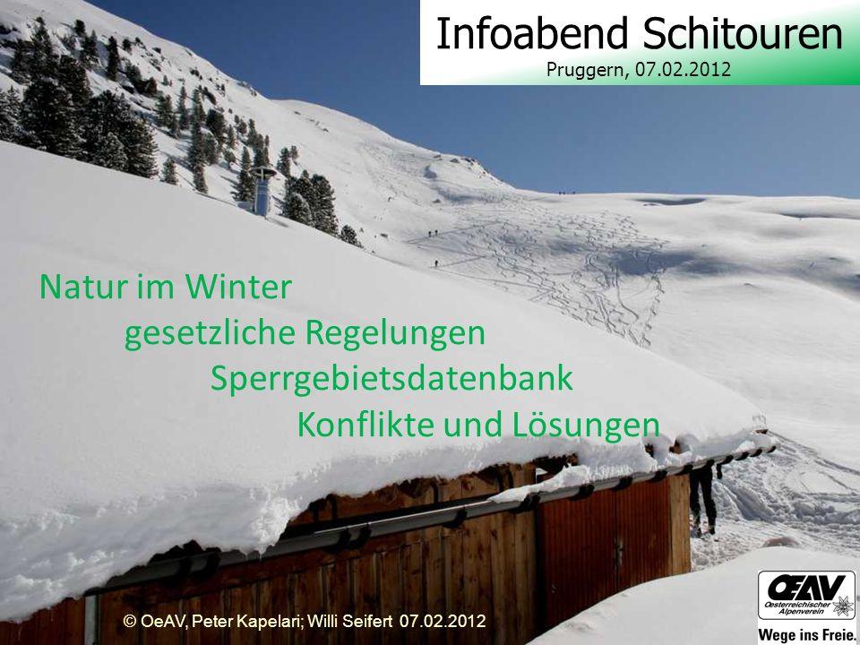 Infoabend Schitouren Pruggern, 07.02.2012