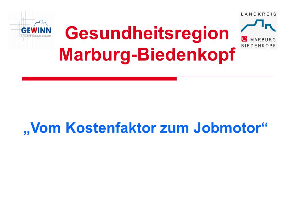 Gesundheitsregion Marburg-Biedenkopf