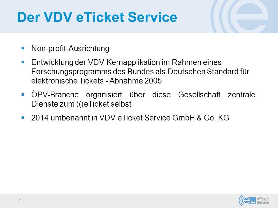 Der VDV eTicket Service