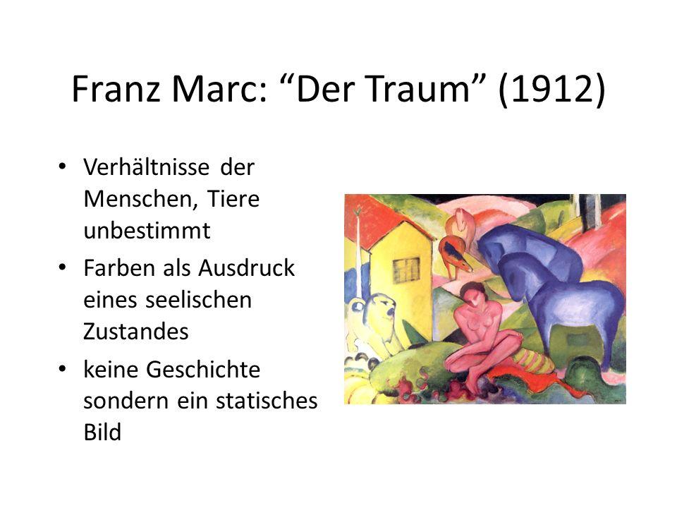 Franz Marc: Der Traum (1912)