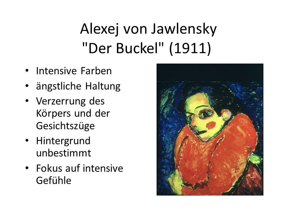 Alexej von Jawlensky Der Buckel (1911)