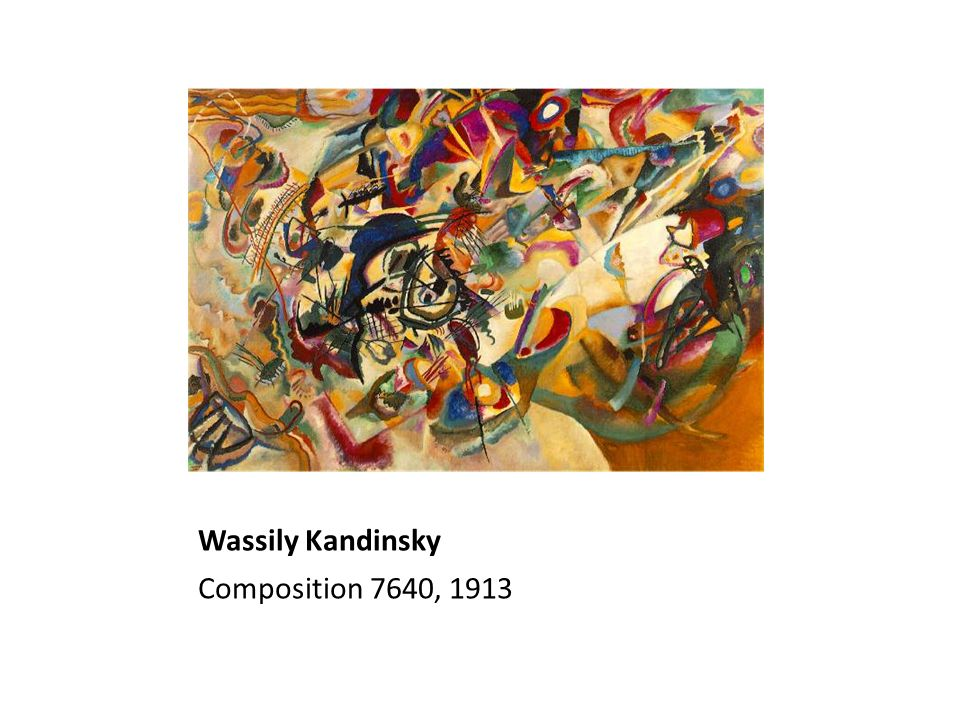 Wassily Kandinsky Composition 7640, 1913