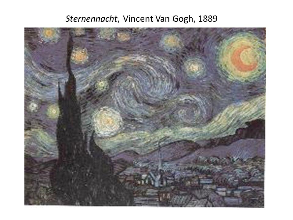 Sternennacht, Vincent Van Gogh, 1889