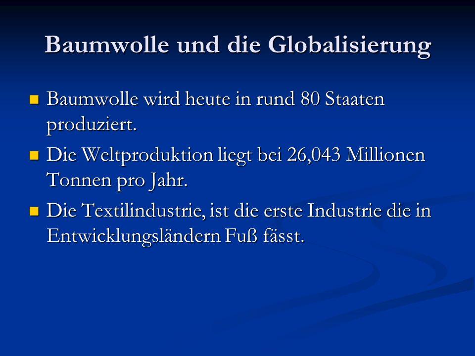 Baumwolle und die Globalisierung
