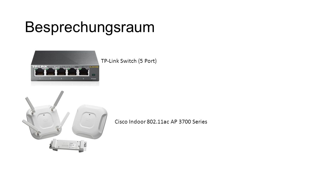 Besprechungsraum TP-Link Switch (5 Port)