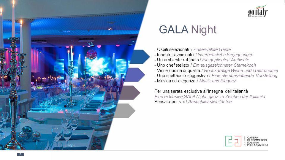 GALA Night - Ospiti selezionati / Auserwählte Gäste