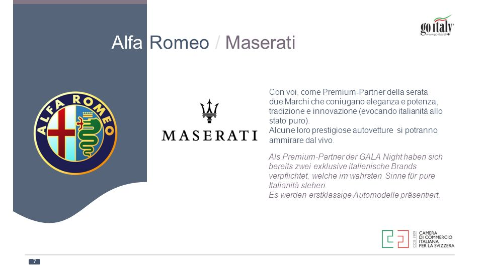Alfa Romeo / Maserati