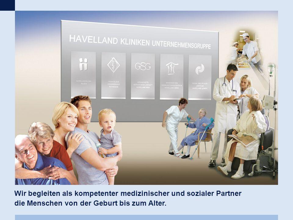Wir begleiten als kompetenter medizinischer und sozialer Partner