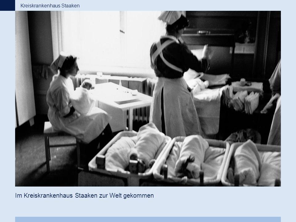 Im Kreiskrankenhaus Staaken zur Welt gekommen
