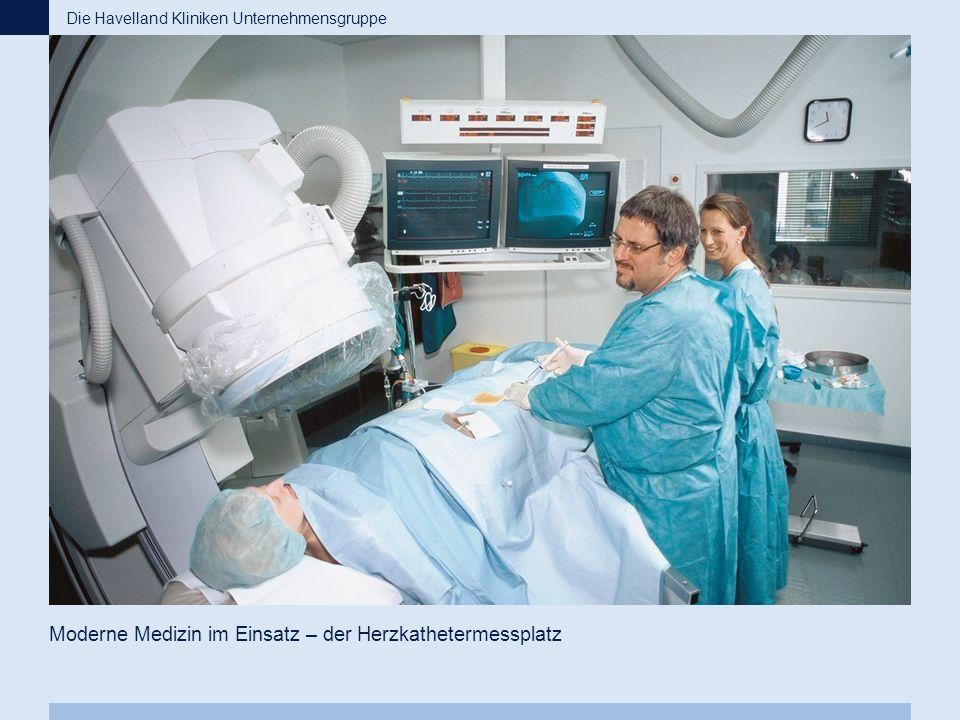 Moderne Medizin im Einsatz – der Herzkathetermessplatz