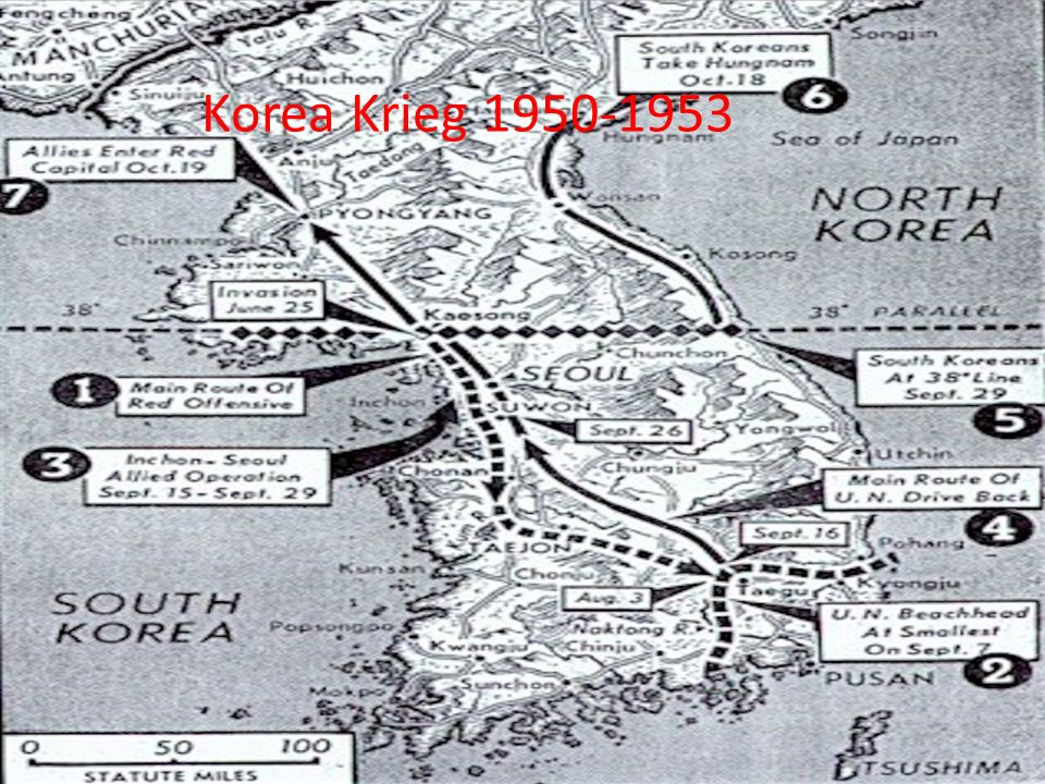 Korea Krieg 1950-1953