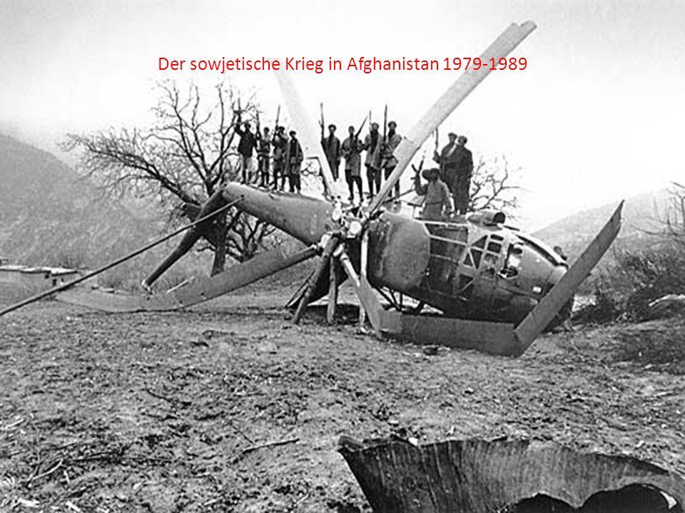 Der sowjetische Krieg in Afghanistan 1979-1989