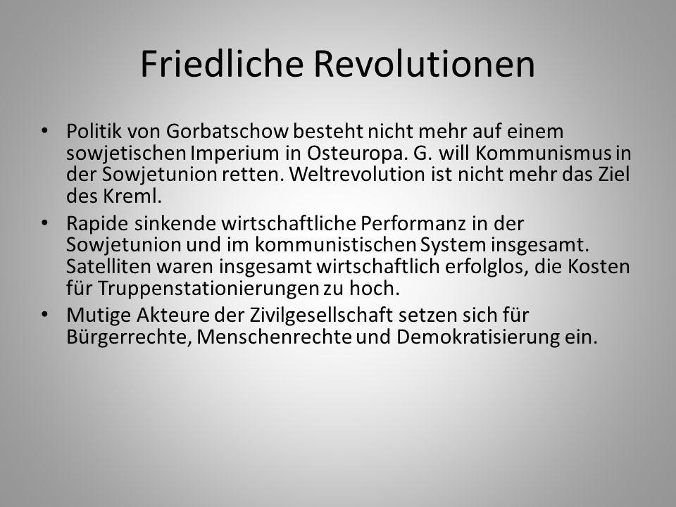 Friedliche Revolutionen