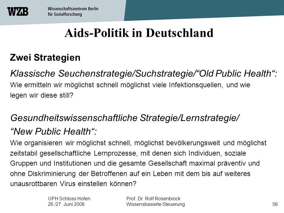 Aids-Politik in Deutschland