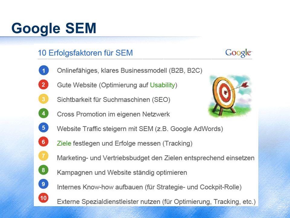 Google SEM