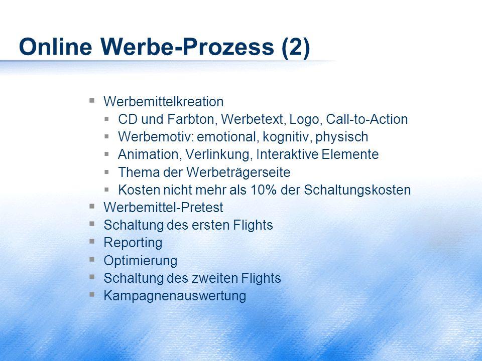 Online Werbe-Prozess (2)