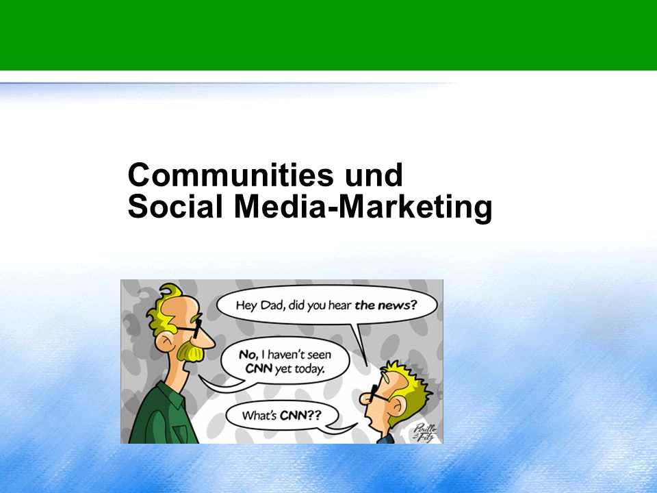 Communities und Social Media-Marketing