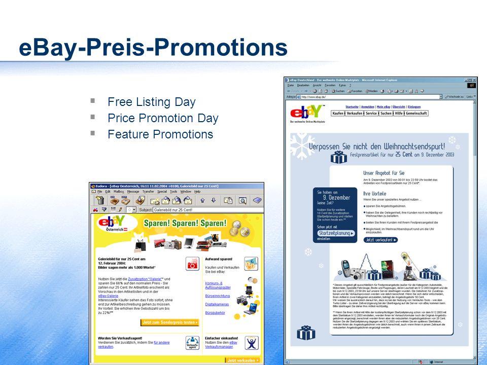 eBay-Preis-Promotions