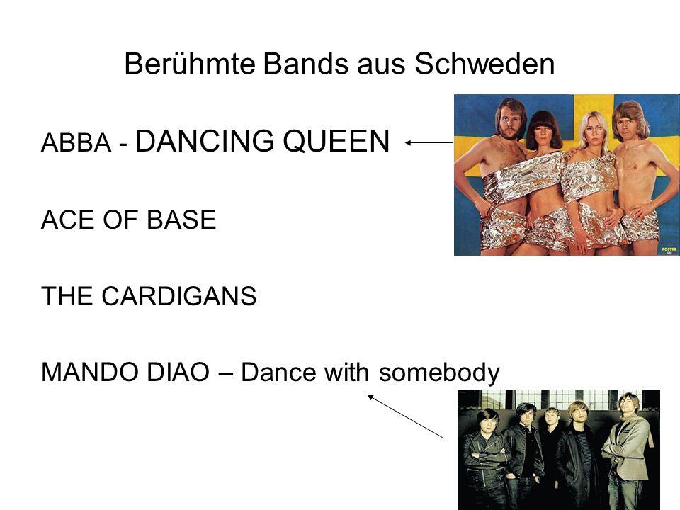Berühmte Bands aus Schweden