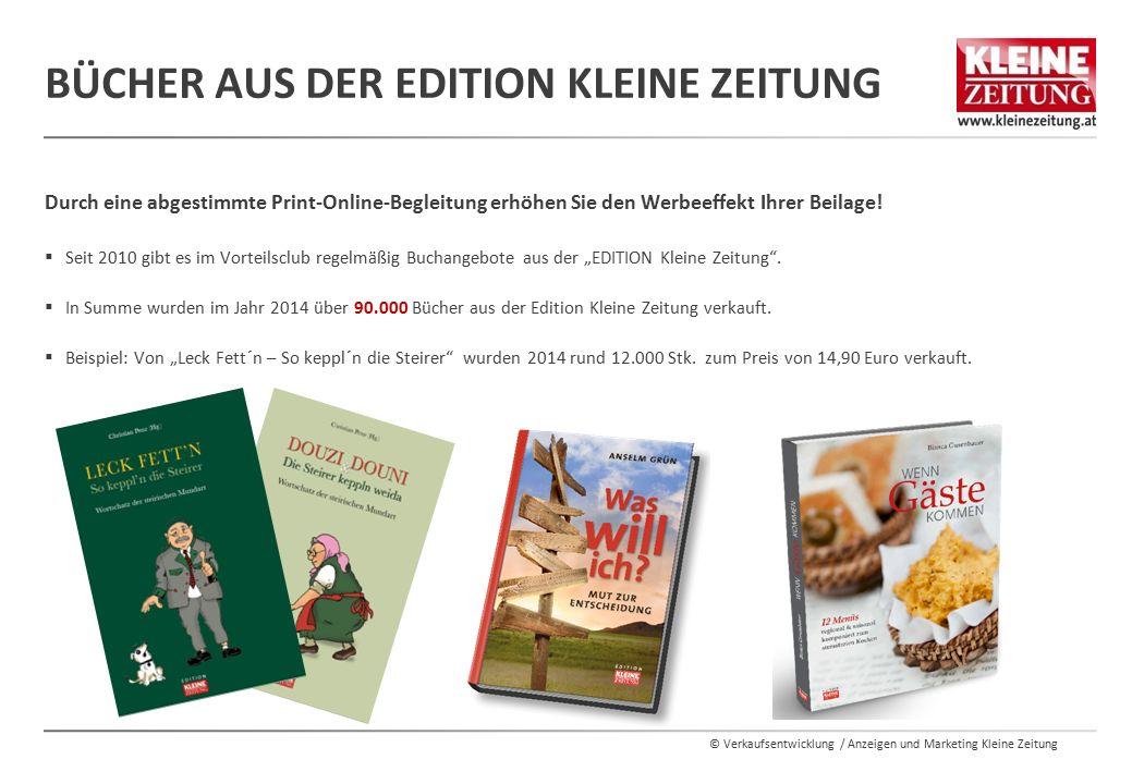 Bücher aus der Edition Kleine Zeitung
