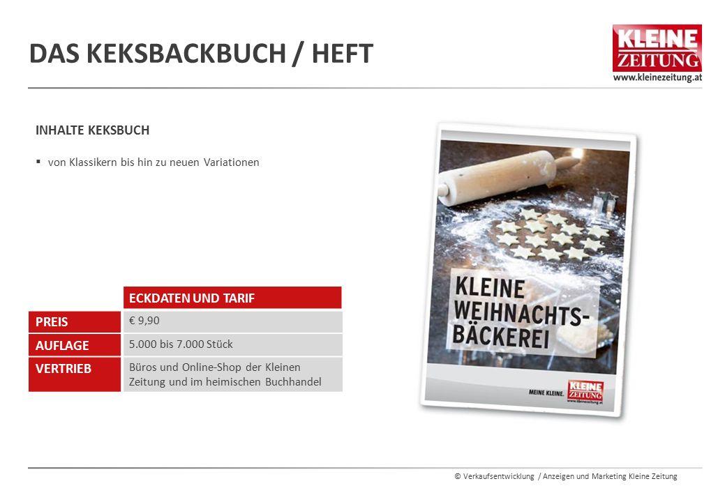 Das KeksBackbuch / Heft