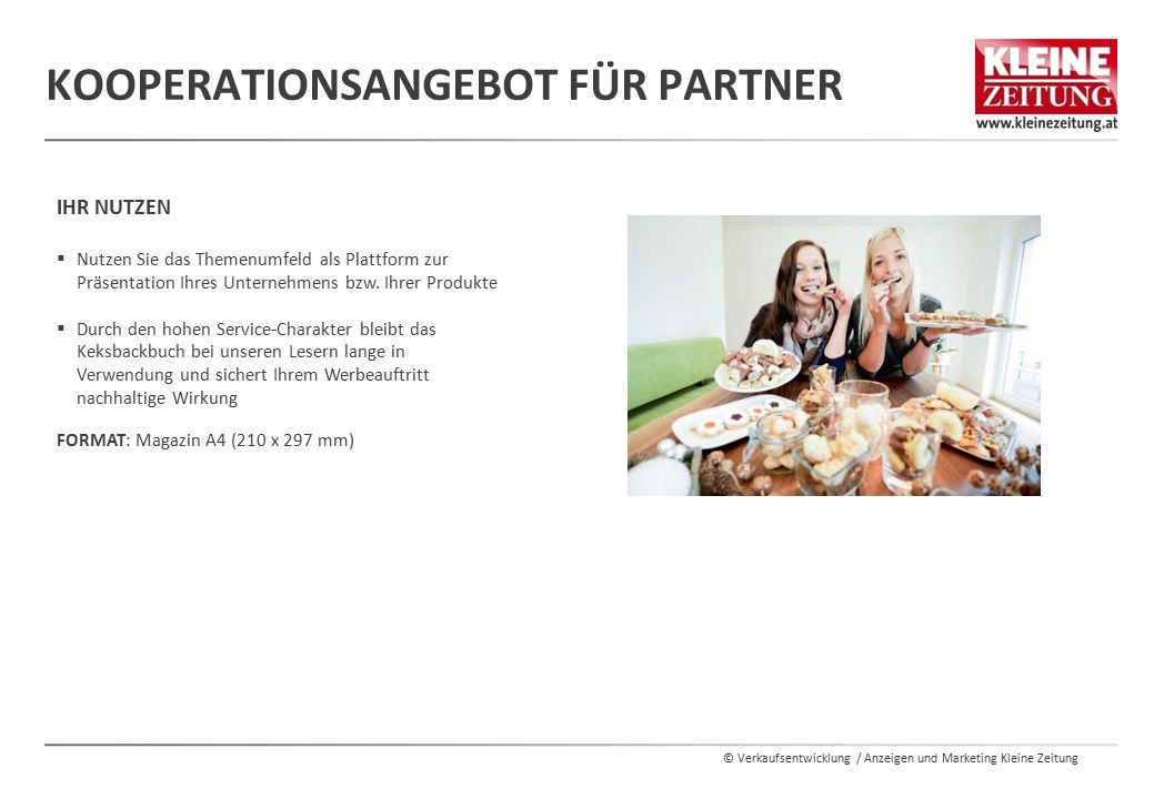 Kooperationsangebot für Partner