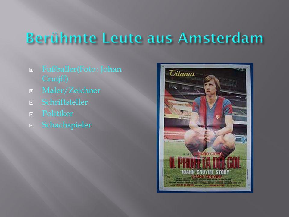 Berühmte Leute aus Amsterdam