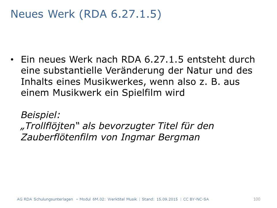 Neues Werk (RDA 6.27.1.5)