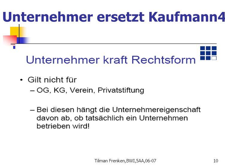 Unternehmer ersetzt Kaufmann4