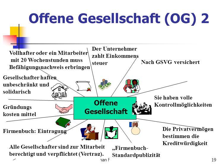 Offene Gesellschaft (OG) 2