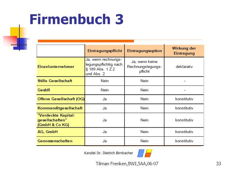 Firmenbuch 3 Tilman Frenken,BWI,5AA,06-07