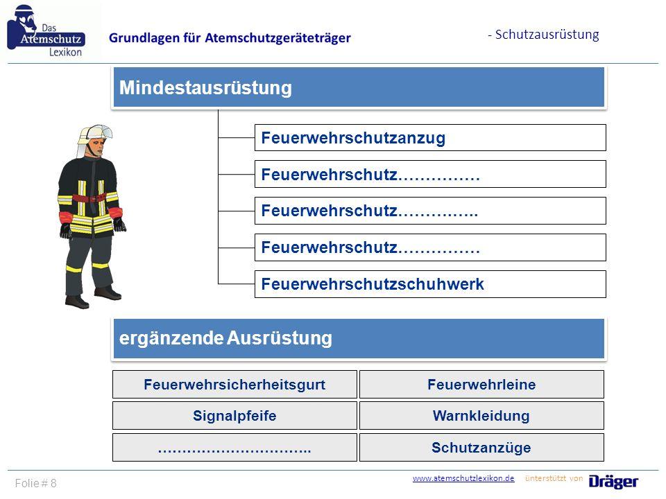 Feuerwehrsicherheitsgurt