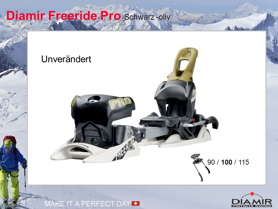 Diamir Freeride Pro Schwarz -oliv