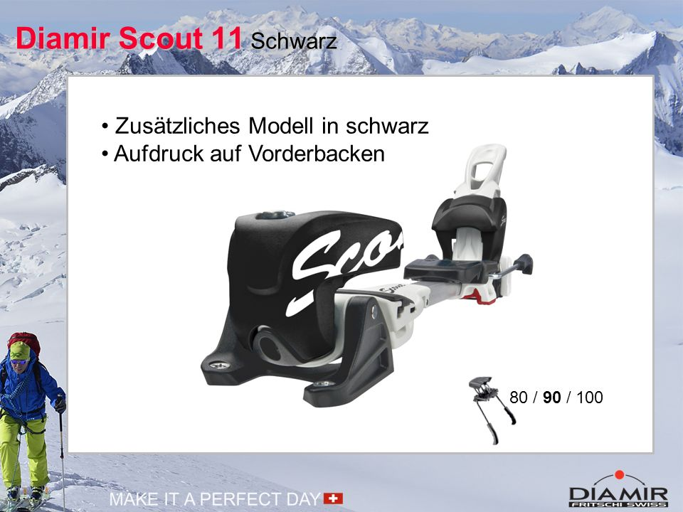 Diamir Scout 11 Schwarz • Zusätzliches Modell in schwarz