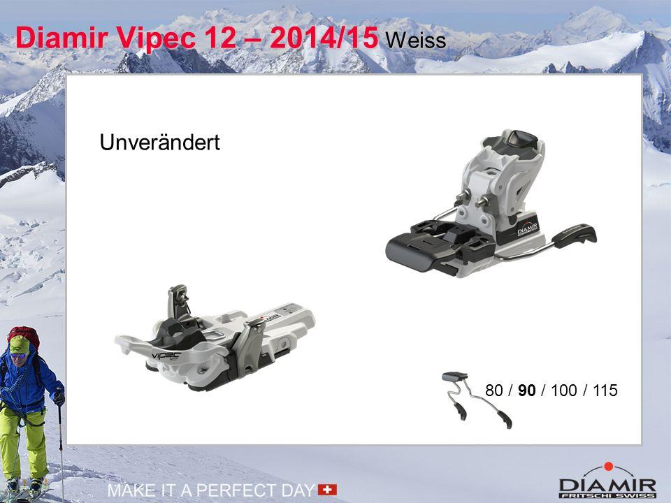 Diamir Vipec 12 – 2014/15 Weiss Unverändert 80 / 90 / 100 / 115