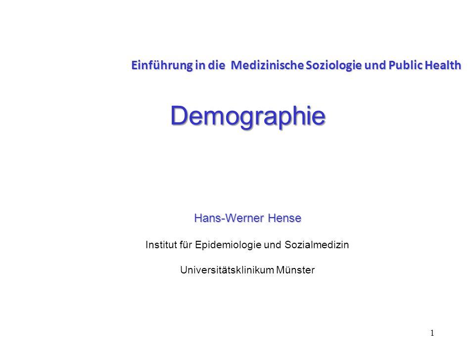 Einführung in die Medizinische Soziologie und Public Health