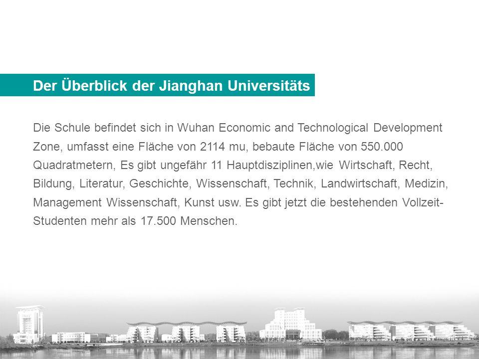 Der Überblick der Jianghan Universitäts