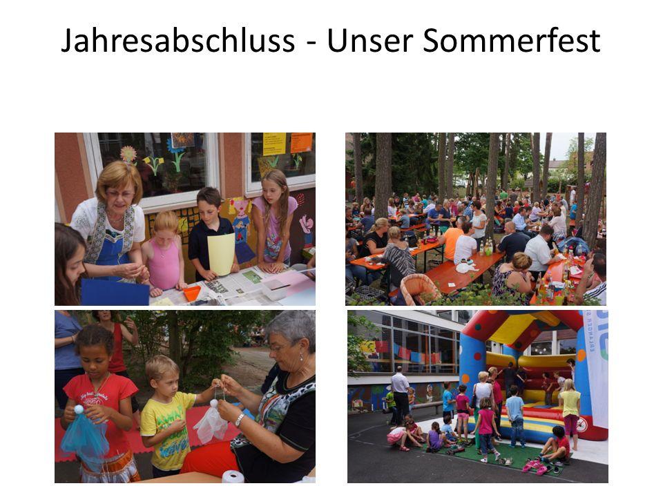 Jahresabschluss - Unser Sommerfest