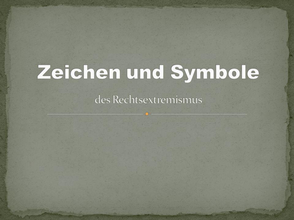Zeichen und Symbole des Rechtsextremismus