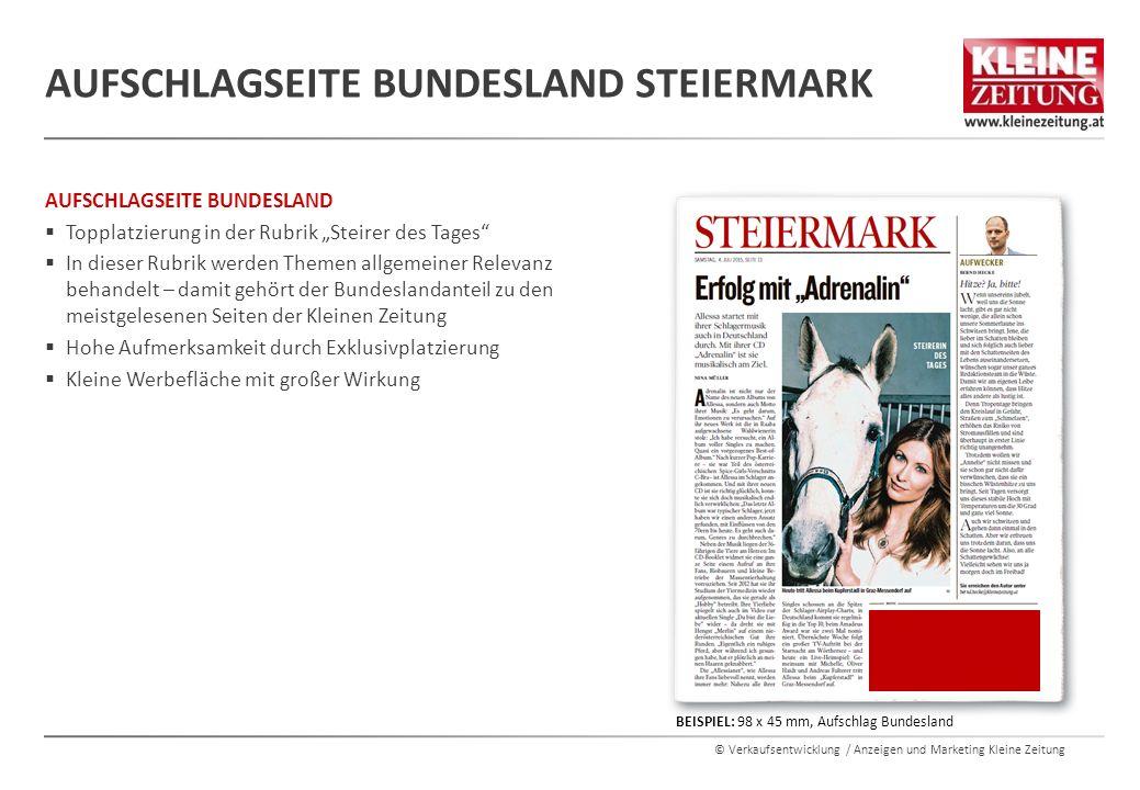 Aufschlagseite Bundesland Steiermark
