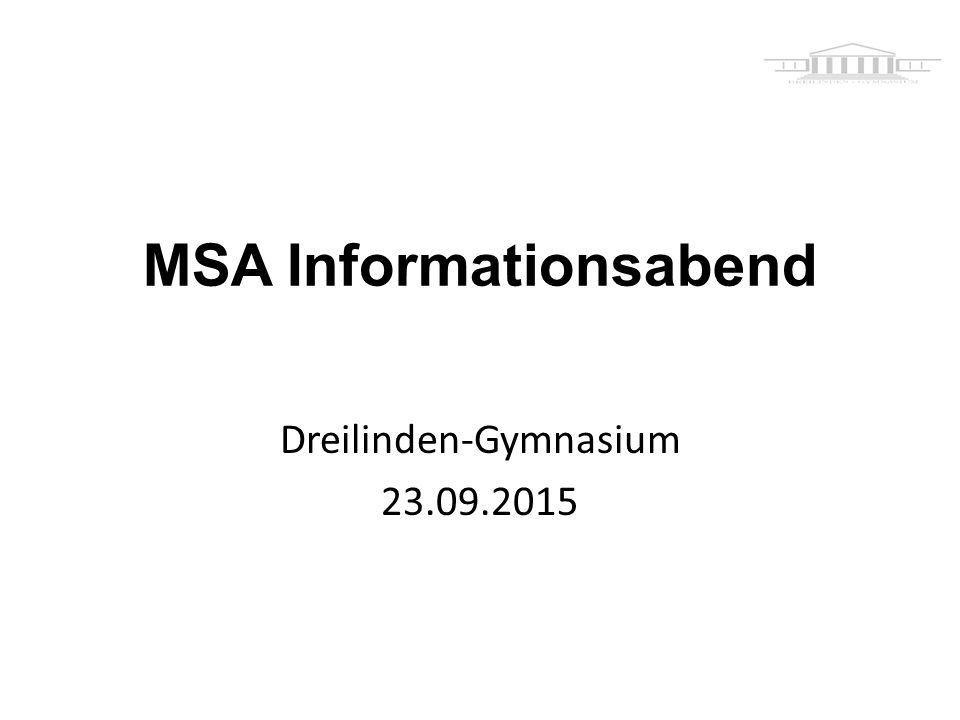 MSA Informationsabend