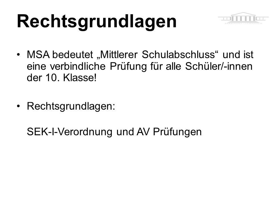 Rechtsgrundlagen u.a.: sich auch auf der Schulhomepage: SEK-I-Verordnung und AV Prüfungen! www.kant-gymnasium-berlin.de.