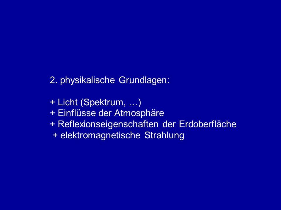 2. physikalische Grundlagen: