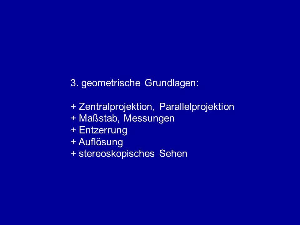3. geometrische Grundlagen: