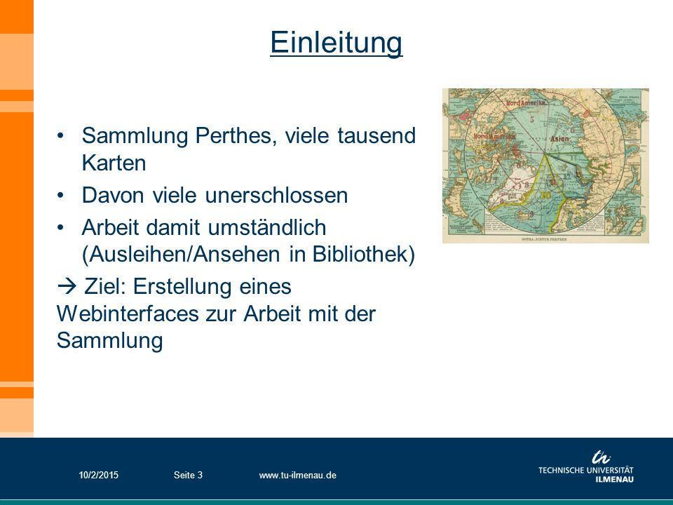 Einleitung Sammlung Perthes, viele tausend Karten