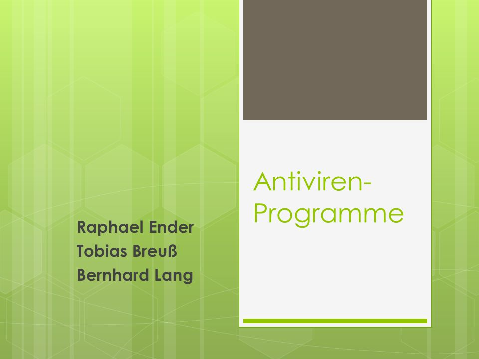 Raphael Ender Tobias Breuß Bernhard Lang