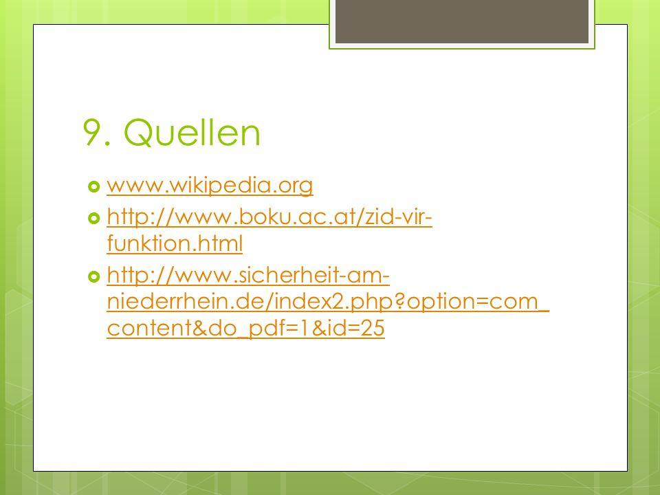 9. Quellen www.wikipedia.org