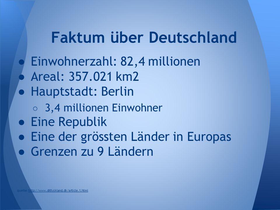 Faktum über Deutschland