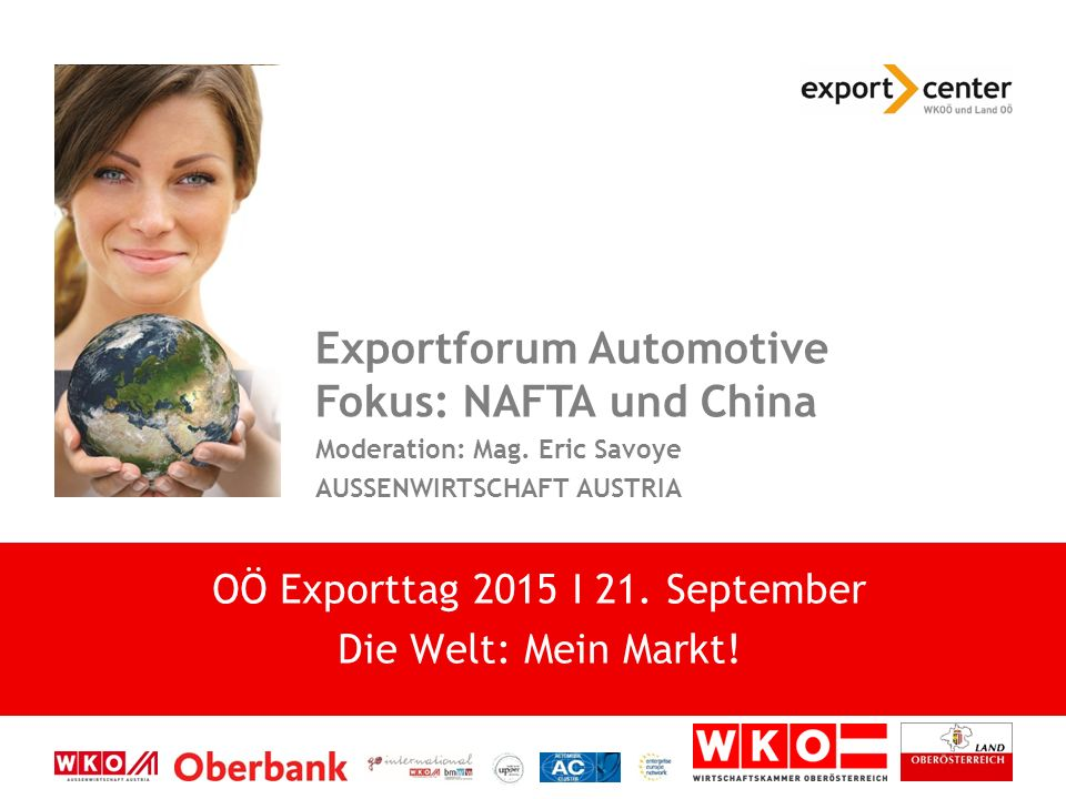 Exportforum Automotive Fokus: NAFTA und China